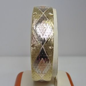 Jewelry - 14KT Gold Tri-Color Italian Imported Bracelet